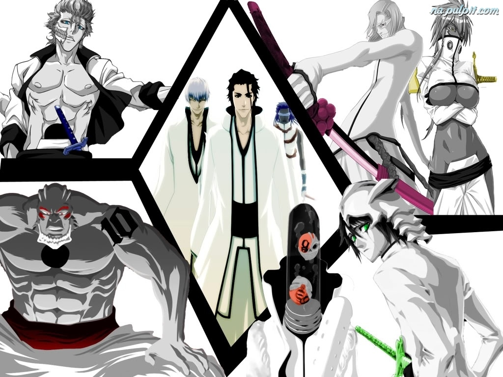 Bleach espada postacie na pulpit - Bleach espadas ...